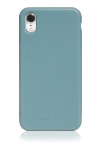 Monocozzi blue LUCID PLUS - Shock Resistant Case for iPhone XR - Dirty Blue 96E23AC3ABB25EGS_1