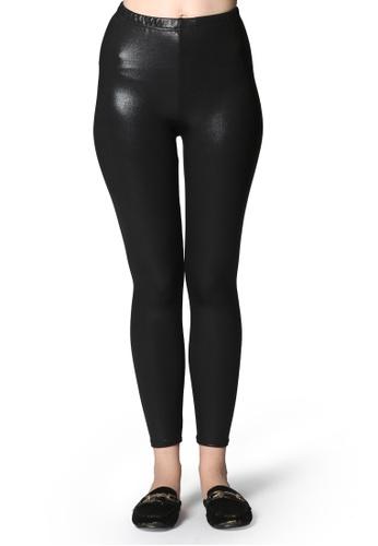 London Rag black Black Shiny Leggings A3FFEAA0447BB9GS_1