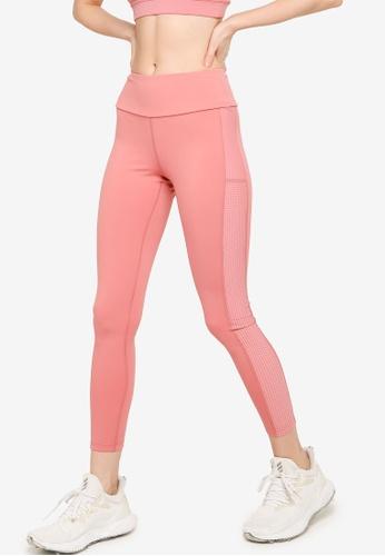 Guess pink Alix Perforated Leggings C5633AA12E7E5CGS_1