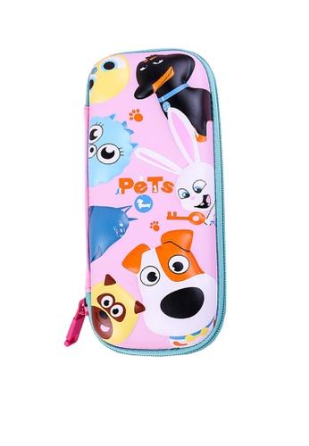 Twenty Eight Shoes pink VANSA 3D Cartoon Pencil Case  VAK-A99887 813E1KC35D2739GS_1