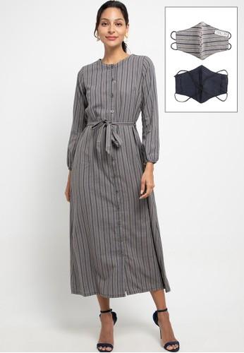 Expand grey Elmeera Dresses 7ABA1AA9B8D702GS_1