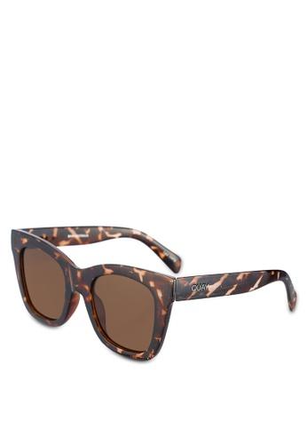 Quay Australia brown After Hours Sunglasses QU661GL0RLUQMY_1