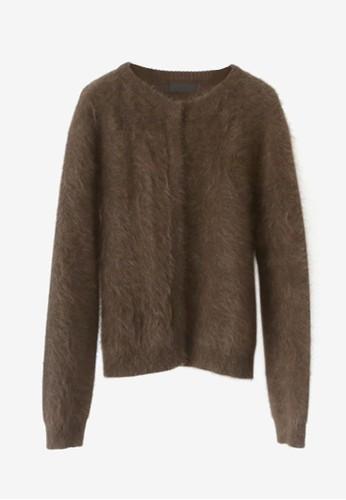 安哥拉按esprit tw扣針織外套, 服飾, 毛衣& 針織外套