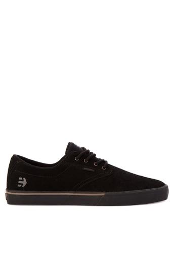 Etnies black Jameson Vulc Sneakers 1083ESH7AFCEE1GS_1