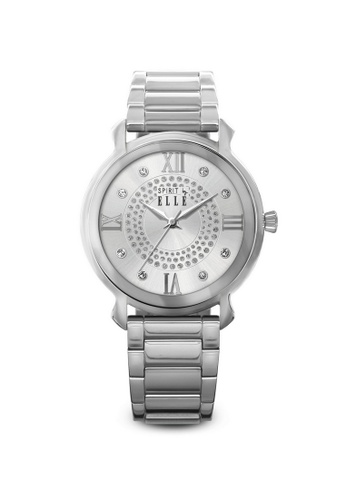ELLE silver Fashion Ladies Watch SP241AC58LPXMY_1