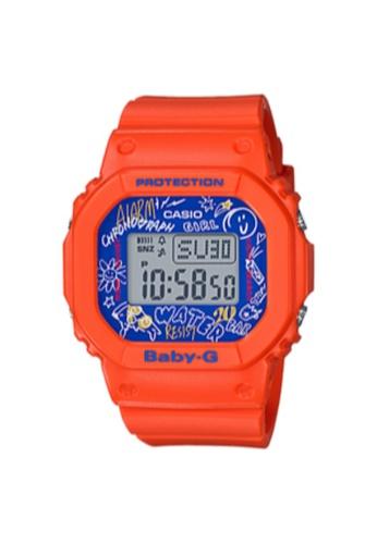 Casio orange CASIO BABY-G SPORT WOMEN WATCH BGD-560SK-4DR E931BAC07FAD50GS_1