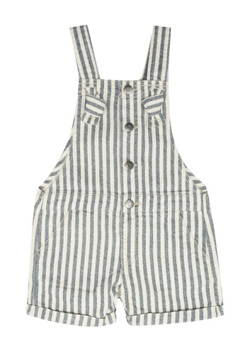FOX Kids & Baby white Baby Girl Overalls 87CF1KA1289E33GS_1