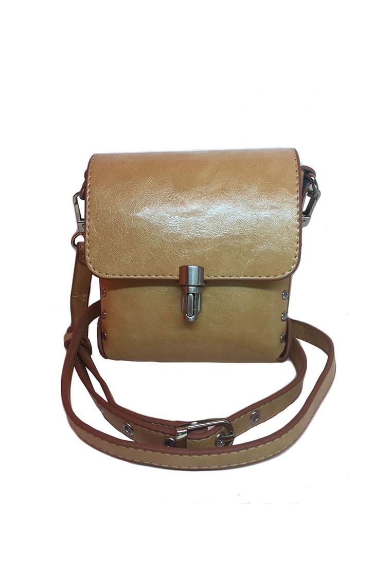 Adjustable Crossbody Square Bag
