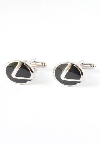 Splice Cufflinks Lexus Badge Cufflinks SP744AC65DNQSG_1