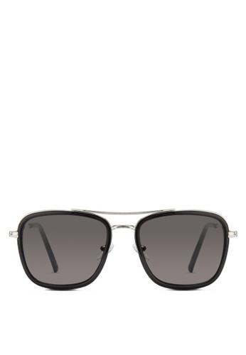 JP0346 esprit 鞋膠化方框飛行員太陽眼鏡, 飾品配件, 飾品配件