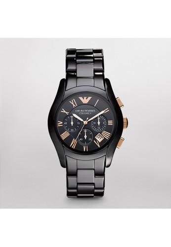 Emporio Armani VALENTE紳士系列腕錶 AR1esprit台灣門市410, 錶類, 紳士錶