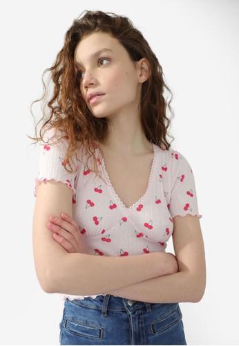 PIMKIE pink Short Sleeve T-Shirt 5D30FAA67332EEGS_1