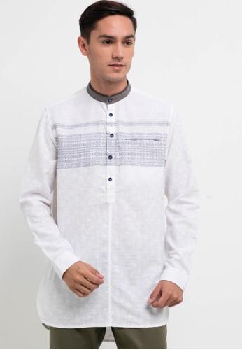 Emba Jeans white Dante Qurta 8F3D1AA46EC5B5GS_1