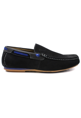 midzone black SCORPION Leather Slip On 54021SH546D548GS_1