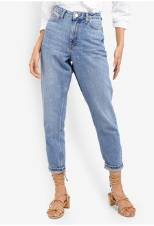 3596e1121947 Mid Blue Mom Jeans C516AAA66290A9GS 1 TOPSHOP ...