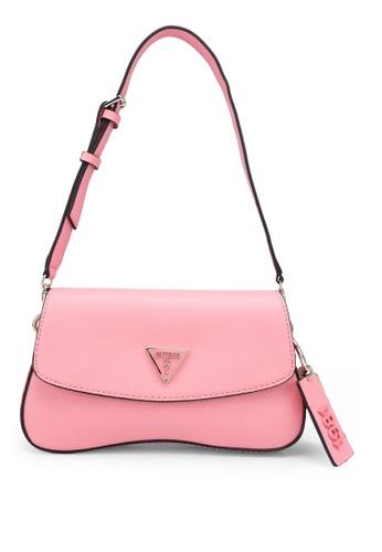 Guess pink Cordelia Flap Shoulder Bag 25F58AC43D644BGS_1