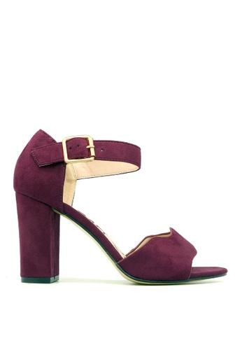 Carlo Rino red Carlo Rino 333040-283-14 Strappy Dress Sandals (Red) CA220SH0RPHTMY_1