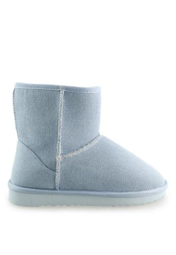 Footspot blue FOOTSPOT - Classic Snow Boots FO296SH2WCB8HK_1