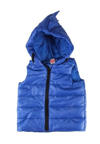 KOTON blue Sleeveless Down Jacket 2305EKA6C2059AGS_1