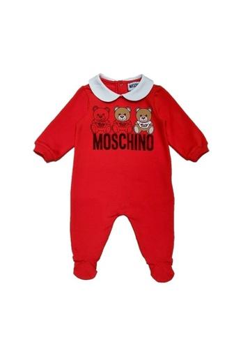 MOSCHINO BABY KID TEEN red MOSCHINO BABY ROMPER 56935KA0B664E4GS_1