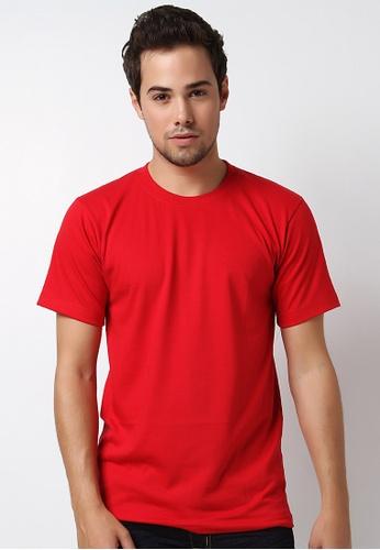 Guitar red Regular Round-Neck Shirt GU661AA91VOUPH_1