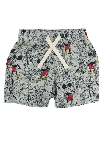 GAP grey Disney Mickey Mouse Shorts B71A8KAF2BE85AGS_1