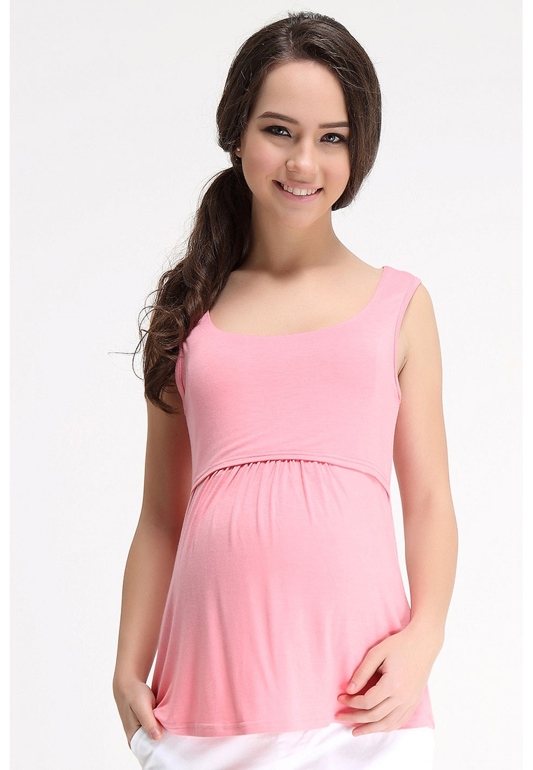 Top Empire STRAWBERRY Maternity by Bove Knitted LTN5402 Sleeveless Spring Abbey 0wUOqZ