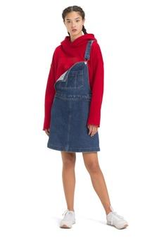 a020b7e369 Tommy Jeans blue Tjw A Line Dungaree Dress Ghmb FA91DAA17A0455GS 1