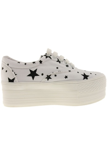 Maxstar white Maxstar Women's C50 5 Holes Platform Canvas Low Top Star Sneakers US Women Size MA164SH66PVPSG_1