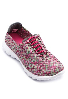 Weave Patterned Sneakers