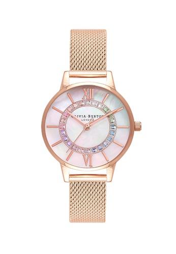 Olivia Burton gold Olivia Burton Wonderland Rose Gold Women's  Watch (OB16WD95) B29F1AC1771C4FGS_1