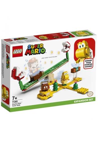 LEGO multi LEGO Super Mario 71365 Piranha Plant Power Slide Expansion Set (217 Pieces) 16C3ETH15C1728GS_1