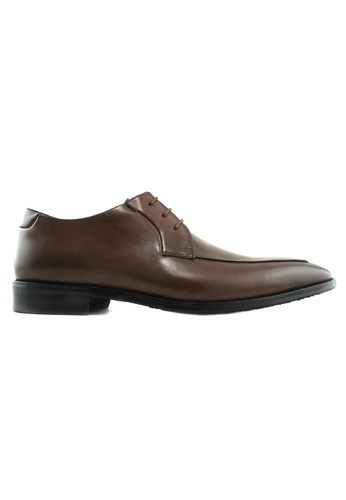 Hanson Bootmaker brown Hanson Bootmaker Lace Up Derby HA656SH65KBYSG_1