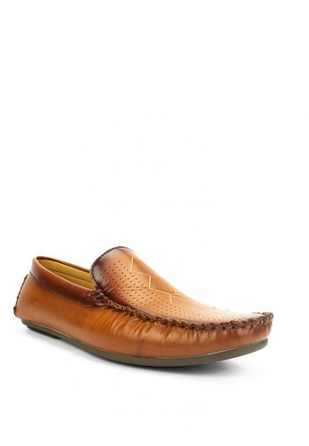 Mario D' boro Runway brown Cyrus Casual Shoes CCA98SH5BE5B1AGS_1
