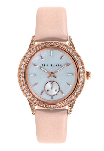 TED BAKER beige Ted Baker Women's 10023515 Classic Analog Beige Watch 7A2C1AC1A3A773GS_1