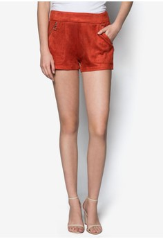 Love Pocket Detail Shorts