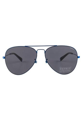 ESPRIT ESPRIT Aviator Blue Sunglasses ET13119 ES374AC55GAQMY_1