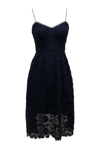 082e54dd8d8 Buy ANNE F Stylish & Soft Lace Fine Strap Party Dress | ZALORA HK
