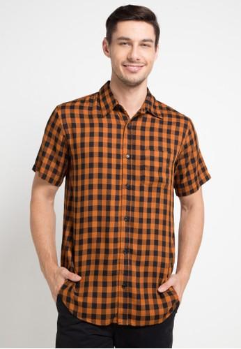 Tolliver multi Short Sleeve Plaid Shirt 13455AA4E65BF1GS_1