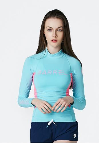 BARREL multi Karen Rashguard L.blue/Pink F3E3BUSBE4E0CDGS_1
