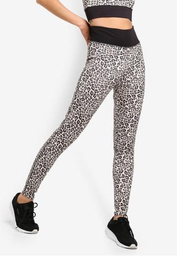 Dorothy Perkins brown Leopard Print Gym Leggings 1FAA0AA0E24F14GS 1 ec071c81f