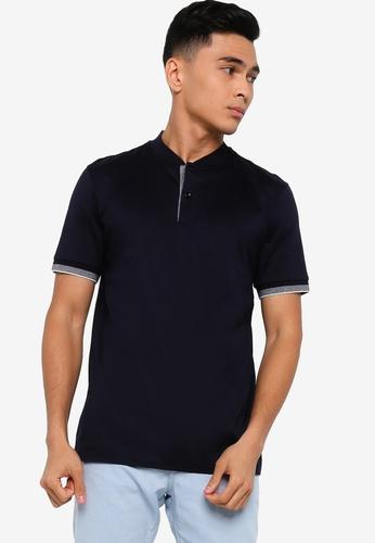BOSS 藍色 Pal 04 Polo Shirt F066FAA8037EE7GS_1