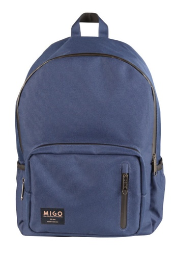 Migo blue Casino U5 Backpack MI595AC2UX6FHK_1