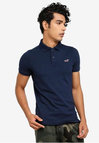 b8a9378ec Buy Hollister Heritage Muscle Solid Polo Shirt Online on ZALORA Singapore