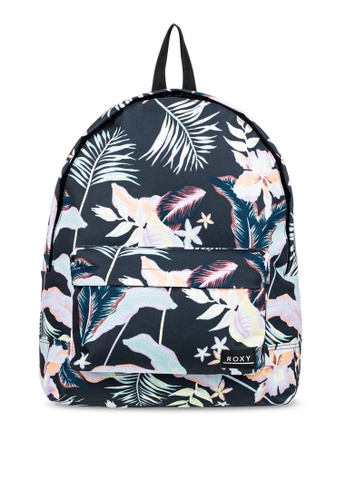 Roxy grey Sugar Baby 16L Small Backpack 20B4DACEEA9F44GS_1