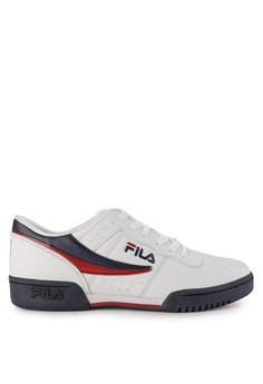 2b1ef0fb45a8 FILA white and red and navy Original Fitness 2234ASH08C30FAGS 1