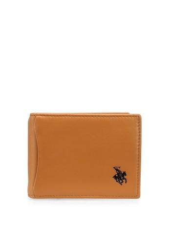Swiss Polo brown RFID Money Clip Wallet 728F2AC33A2ACEGS_1