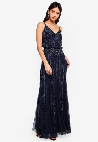 3c0a713d001 Buy Lace   Beads Keeva Maxi Dress Online on ZALORA Singapore
