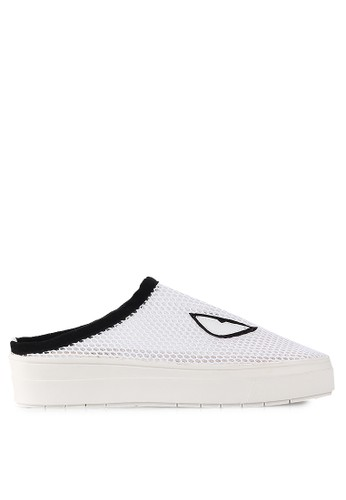 Mandy's white Tomboy White Slip Ons MA947SH44TEHID_1