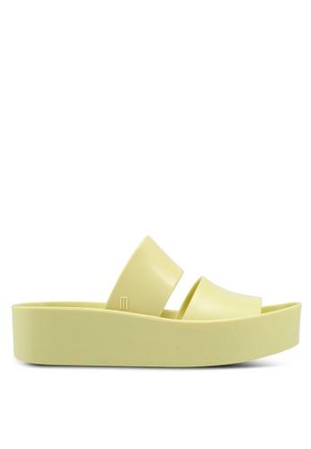 Melissa 黃色 Melissa Shibuya Ad 涼鞋 53151SHCF27F5CGS_1